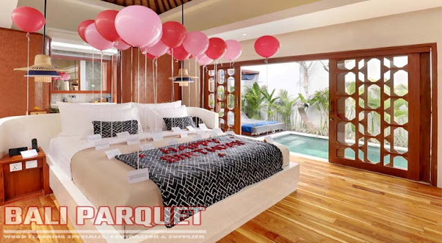 tampilan kamar villa asvara ubud bali