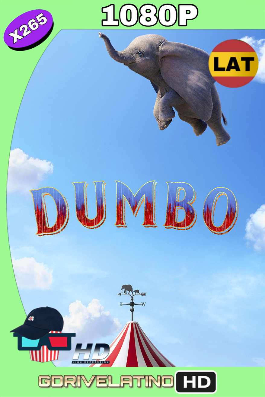 Dumbo (2019) BDRip 1080p x265 (Latino-Inglés) MKV