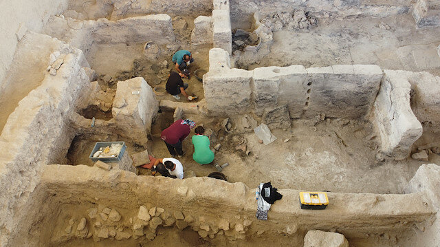 4,000-year-old textile mill unearthed in Beycesultan