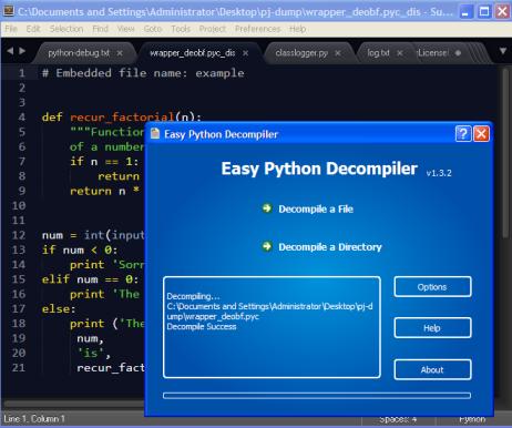 Coding | Reversing: Deobfuscating PjOrion using bytecode simplifier
