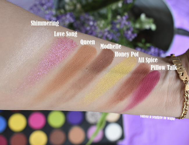 Paleta de Makeup Revolution X Patricia Bright, Rich in Colour
