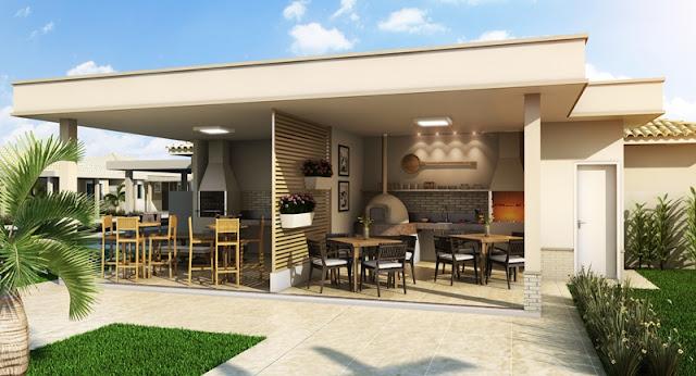 terraco jardim detalhe:28- Varanda gourmet moderna!! Detalhe da iluminação e do jardim