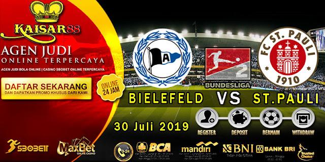Prediksi Bola Terpercaya Liga German 2 Bielefeld vs St. Pauli 30 Juli 2019