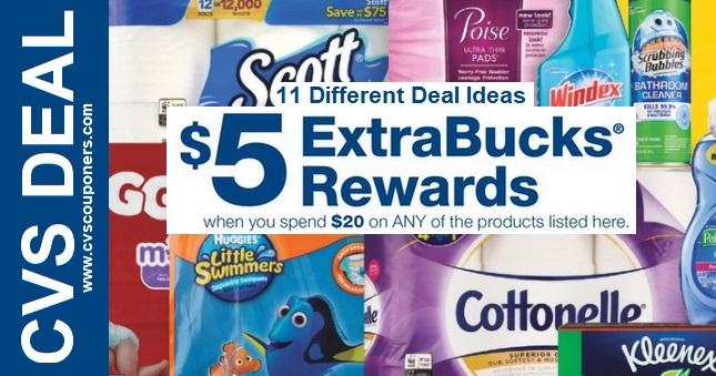 CVS Extrabuck Coupon Deal ideas 91-97
