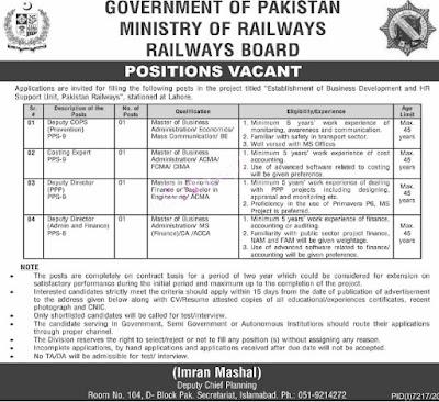 Ministry-of-Railways-Jobs-2021-Advertisement