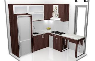 Desain Kitchen Set Terbaru Tahun 2016 - kitchen set semarang