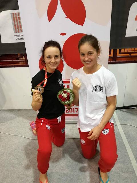 """SKF """"BOKSING"""" ZIELONA GÓRA na 8. Mistrzostwach Unii Europejskiej Kobiet w Boksie 2017!"""