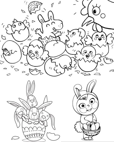dibujos-huevos-pascua-imprimir