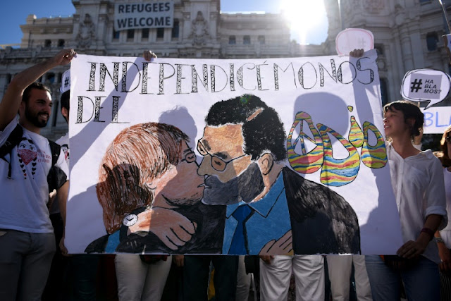 AFP Latest: Barcelona braced for pro-unity rally