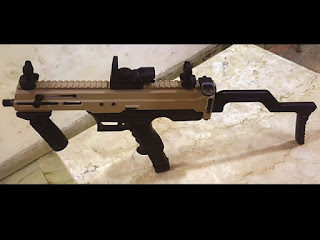 'Asmi'—India's First Indigenous 9mm Machine Pistol