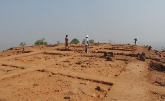 Ancient trade route along the Orissa and Andhra Pradesh coast unearthed