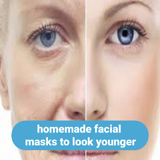homemade facial masks to look younger