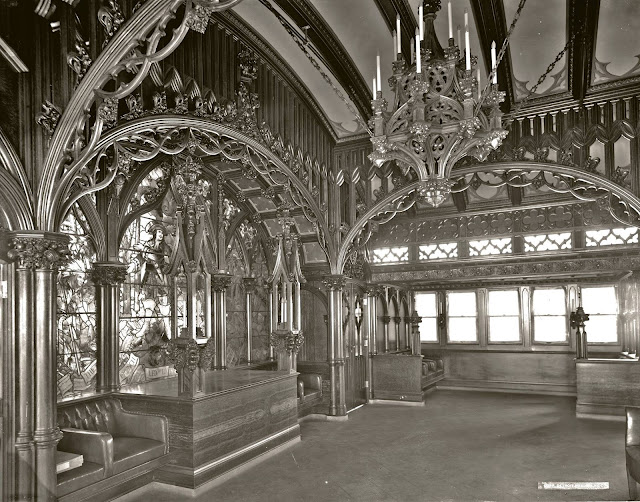 D-III's Gothic Room Fore Deck with Chandler  - Library of Congress