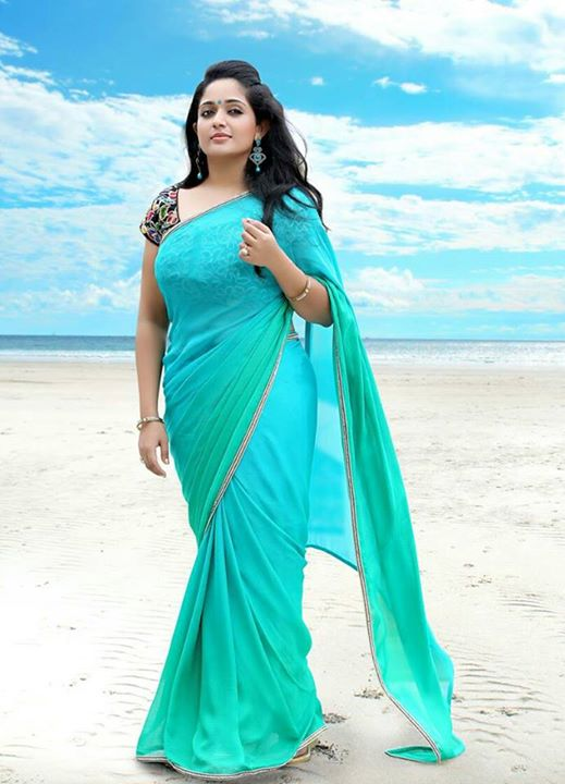 Actress Kavya Madhavan Latest Saree Photos 2015