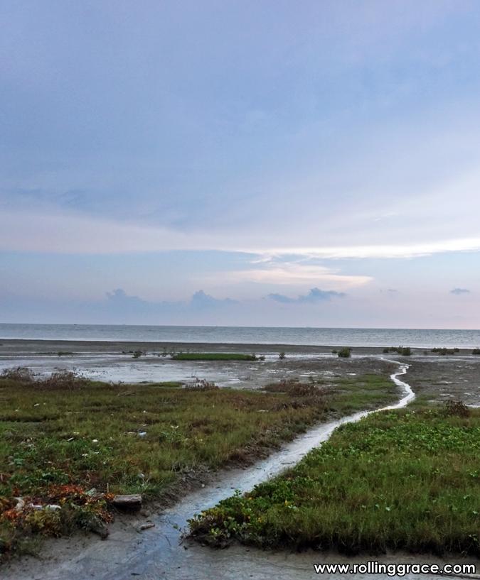 kota kuala muda beach