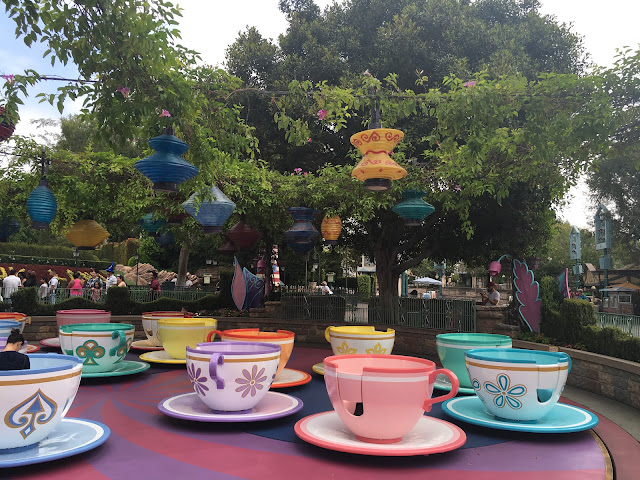Mad Tea Party Fantasyland Disneyland