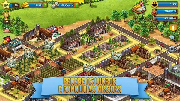 Paraíso Tropic Sim: Exotic Town Building City Game