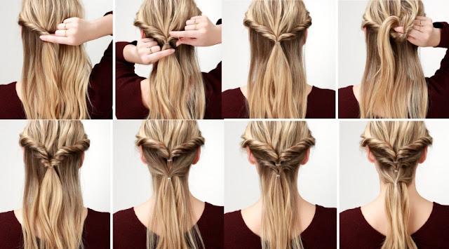 Peinados Faciles Para Cabello Largo Hoy Bella Consejos De - Peinado-facil-pelo-largo