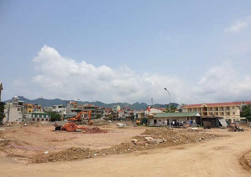 Sơ đồ chia lô khu nhà ở Vĩnh Hà thành phố Hòa Bình - ducanhland