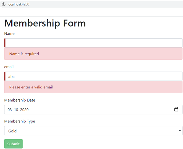 template-driven form validation example