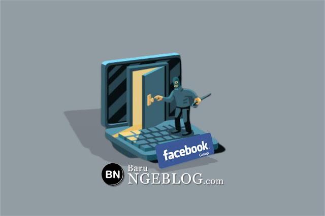 Banyak Grup Facebook Diambil Alih Pihak Lain