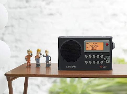 Portable Weather Alert Radio