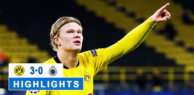 Borussia Dortmund vs Club Brugge – Highlights