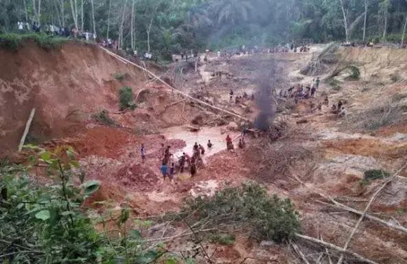 Empat Penambang Emas yang Tertimbun Longsor di Solok Selatan Ditemukan, Dua Meninggal