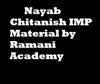 Nayab Chitanish IMP Material by Ramani Academy