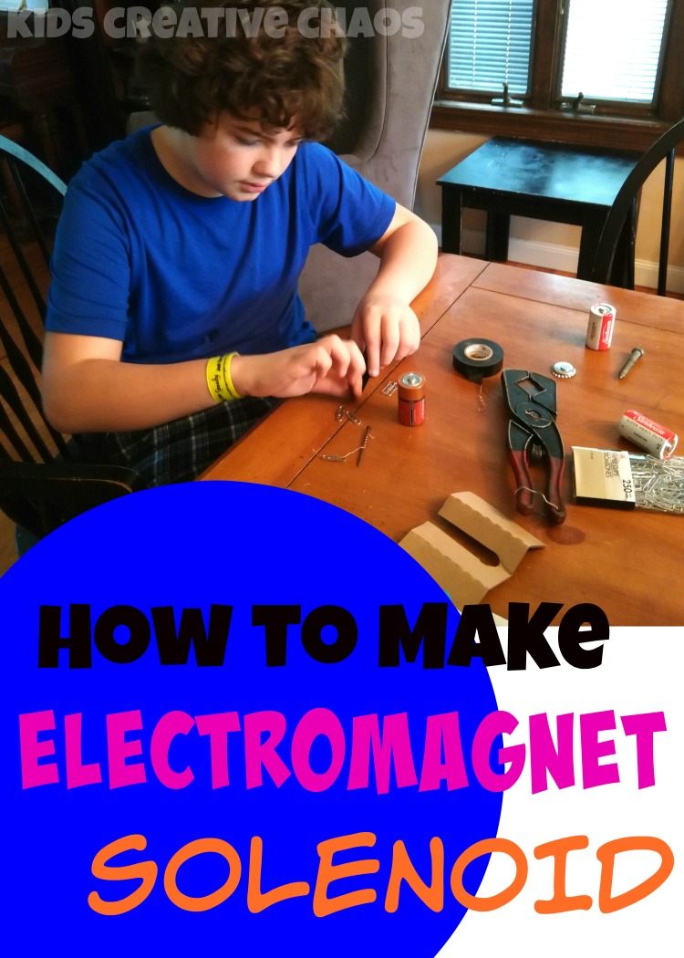 How to Make a Battery Magnet: Solenoid Science