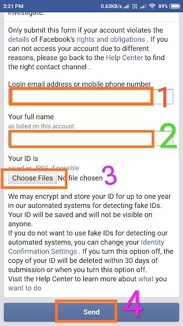 Disabled Facebook Account Kaise Open Kare - Recover Fb Account 2019