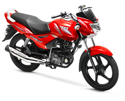 TVS Star City Plus Red Edition