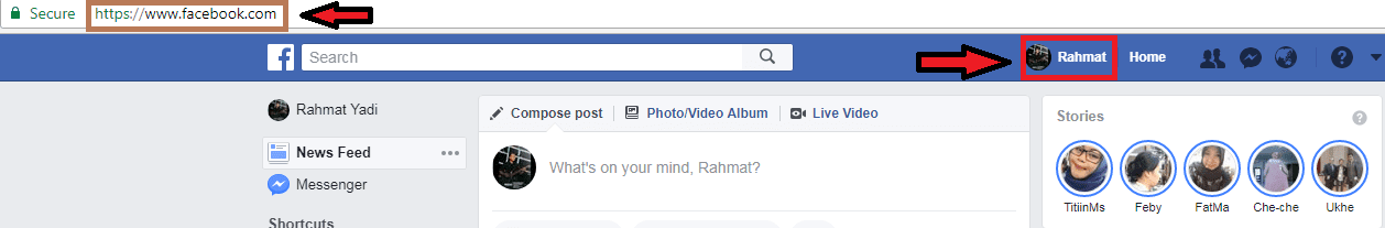 facebook admin id