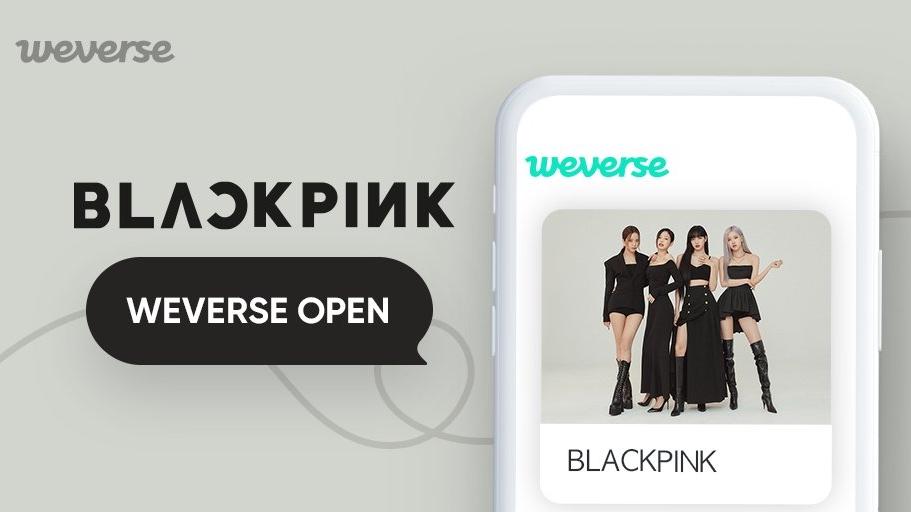 BLACKPINK Officially Joins The Weverse Platform