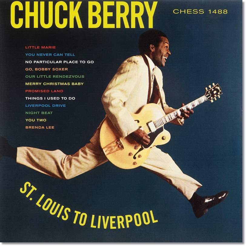 Chuck berry stlouis to liverpool 1964 quem tem pe quem no little marie 2our little rendezvous 3 particular place to go 4you two 5omised land 6you never can tell 7go bobby soxer 8e things i used to do fandeluxe
