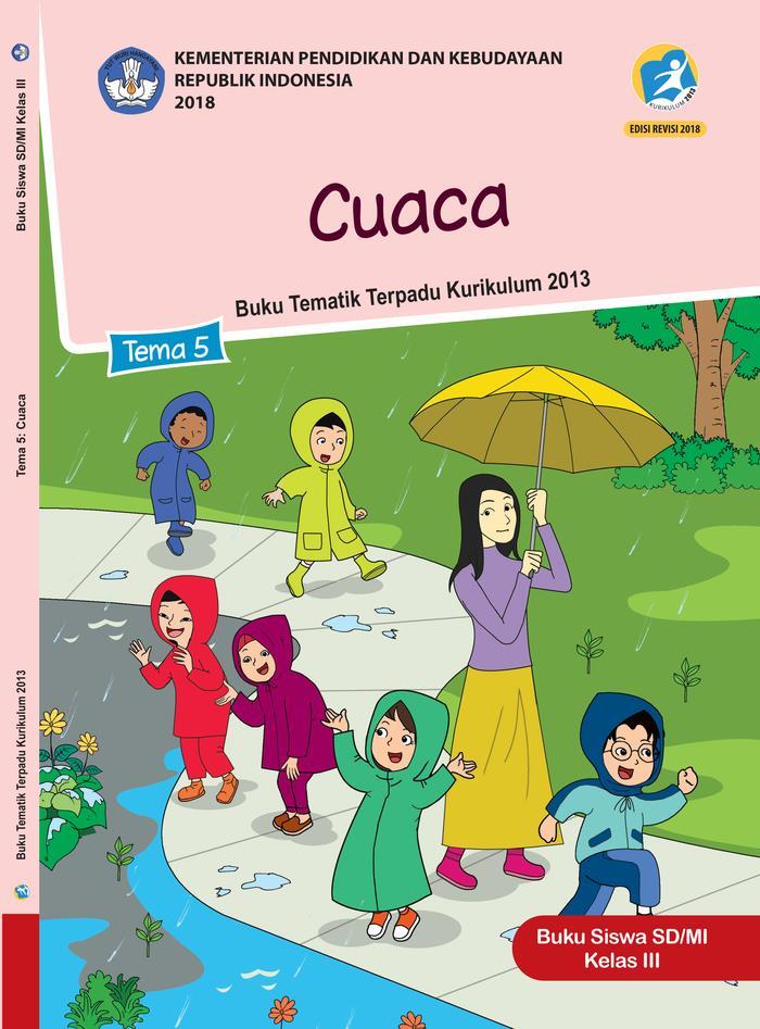 Buku Siswa Tematik SD Kelas III Tema 5 Cuaca