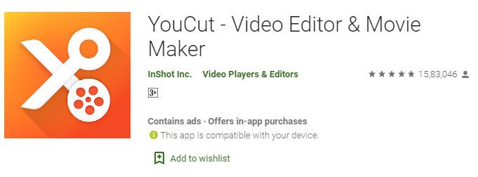 YouCut - Video Editor & Video Maker