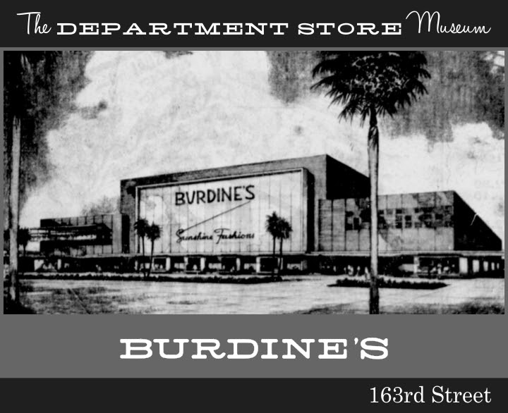 The Department Store Museum W M Burdine Amp Son