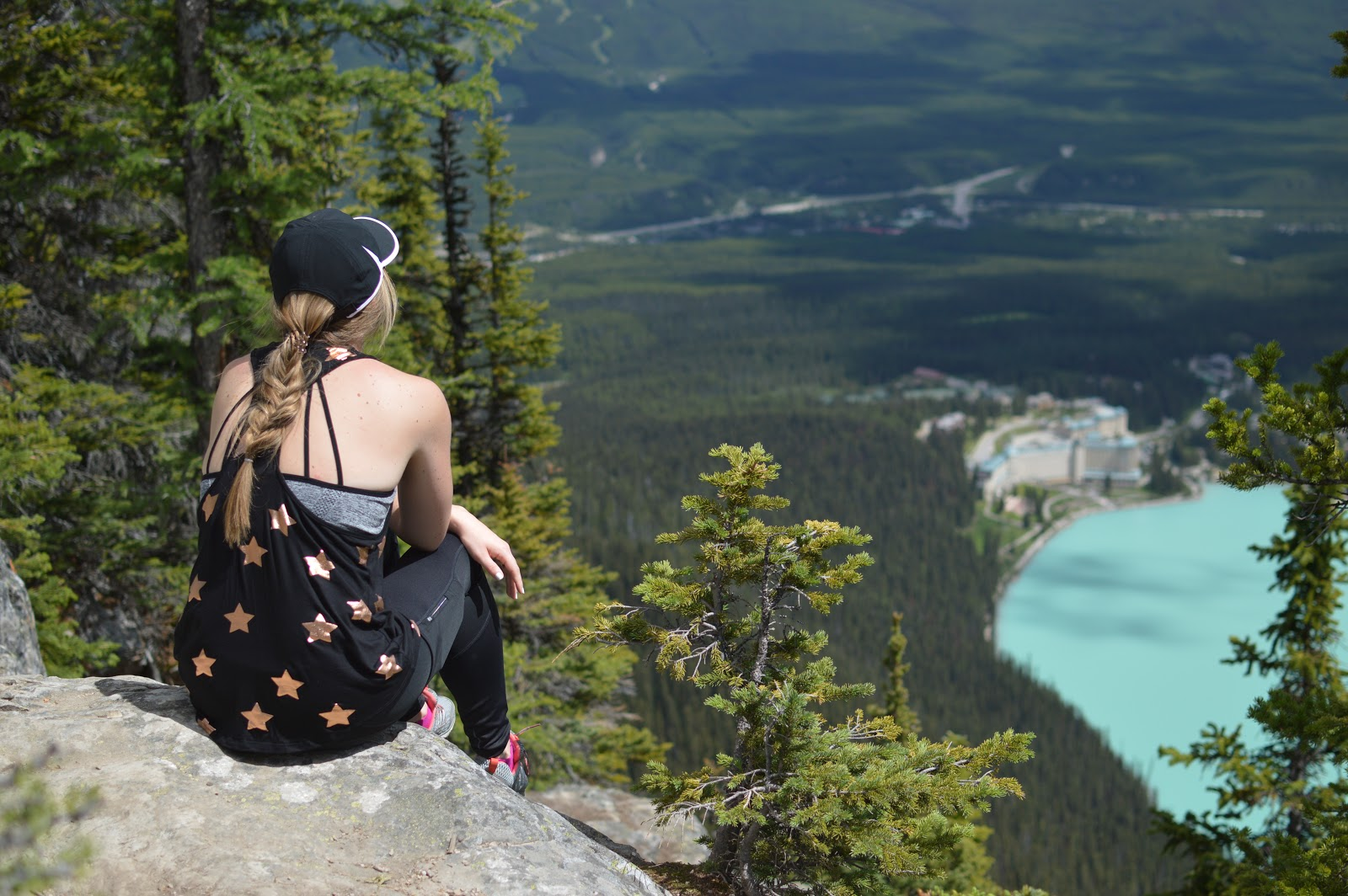 Lake Louise Big Beehive | Lessons Learned from our Trip to Banff | Shuttle to Lake Louise | Parking for Lake Louise | Tips for a trip to Banff | What to Know before you go to Banff | A Memory of Us