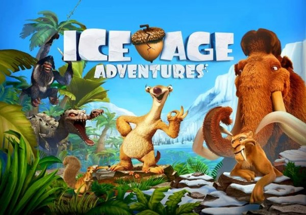 Ice Age Adventure Poster