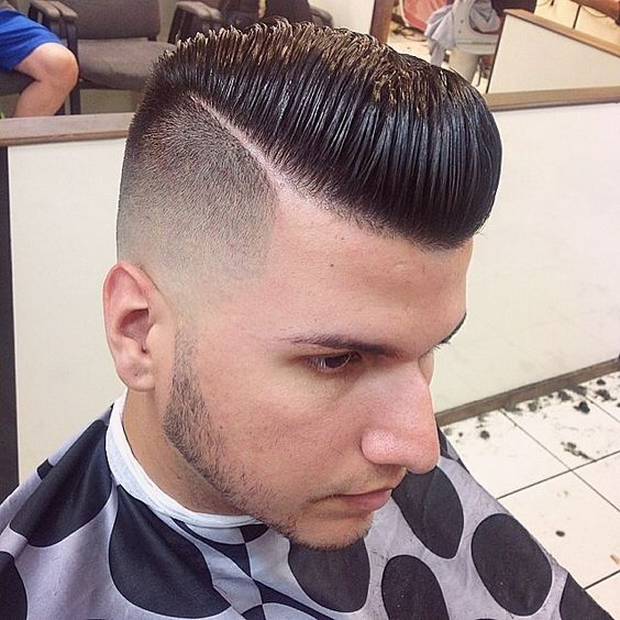 Undercut haircut for men.