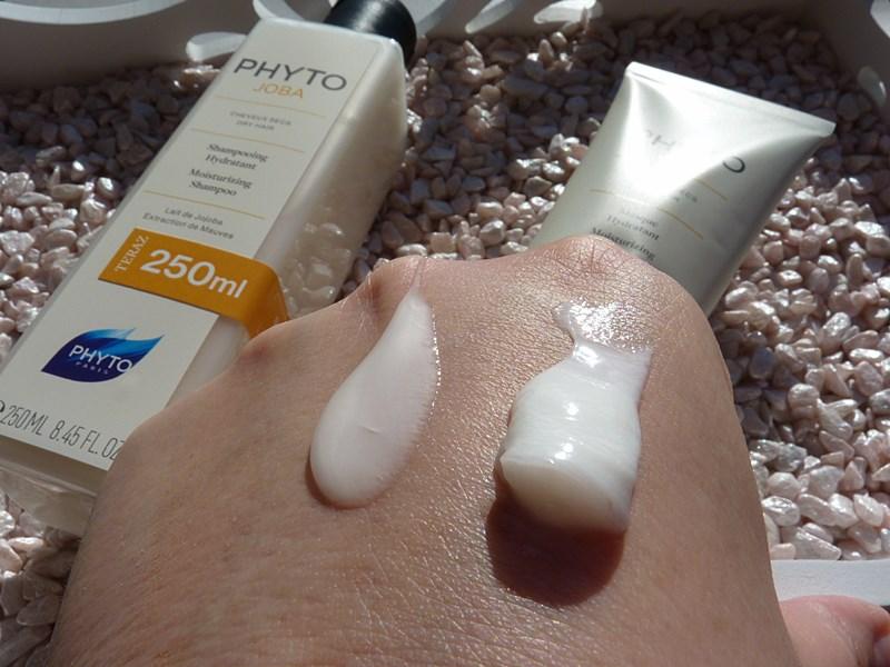 PHYTO  PhytoJoba szampon i  maska nawilżająca