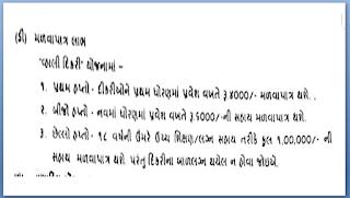 Vahali Dikri Yojana Eligibility, Tharav And Application Form