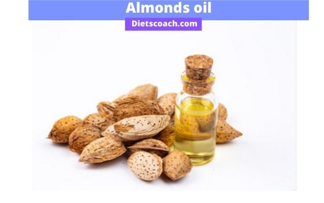 Almonds oil for red stretch marks