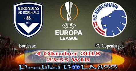 Prediksi Bola855 Bordeaux vs FC Copenhagen 4 Oktober 2018
