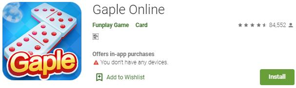 Game Gaple Online Paling Populer Di Indonesia