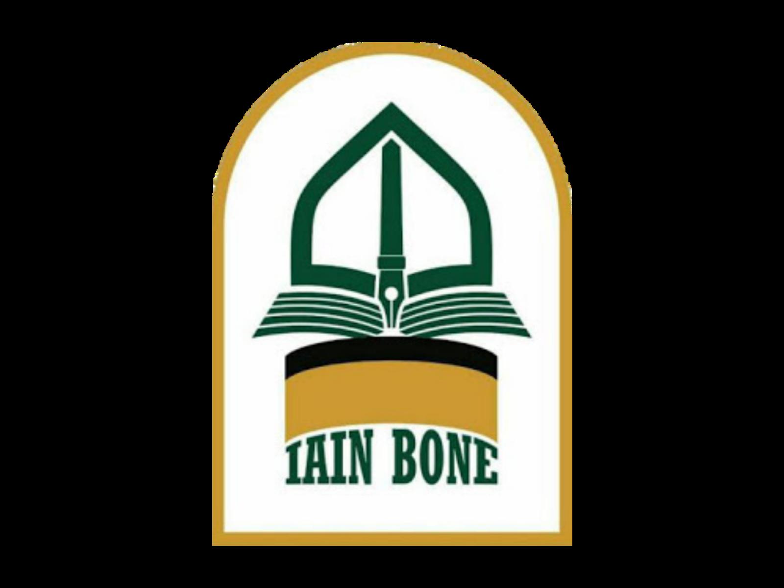 Logo IAIN Bone Format PNG