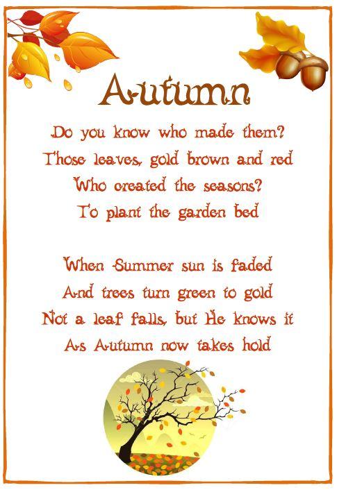 Imans home school autumn poem tawheed autumn poem tawheed m4hsunfo