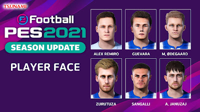 PES 2021 Facepack Real Sociedad by Tsunami