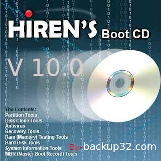 تحميل اسطوانة هيرن 10 - download hiren's.bootcd.10.0